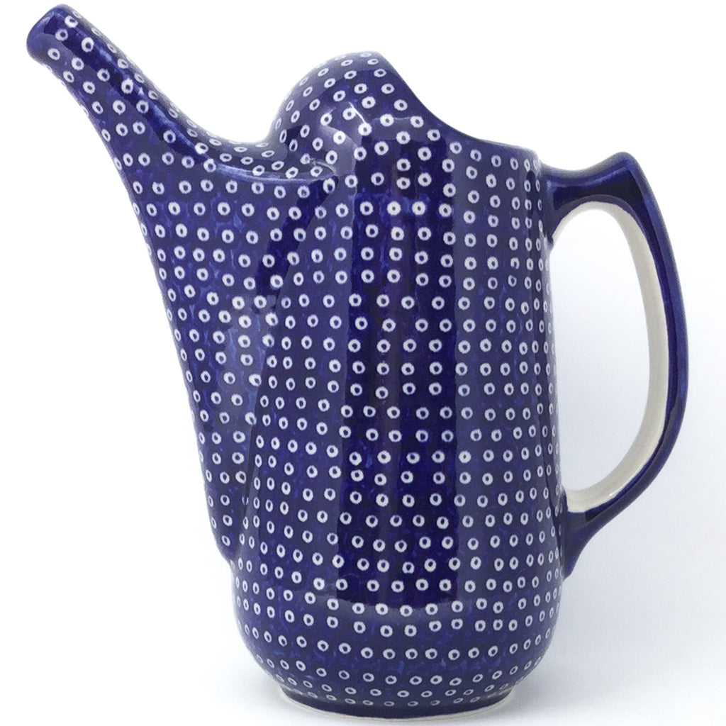 Watering Pitcher 2 qt in Blue Elegance