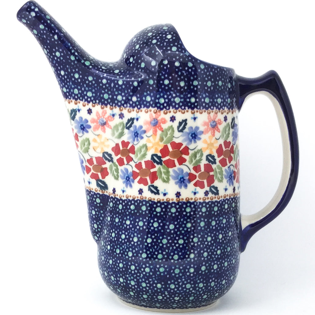 Watering Pitcher 2 qt in Wild Flowers