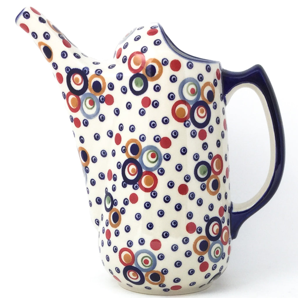 Watering Pitcher 2 qt in Modern Circles