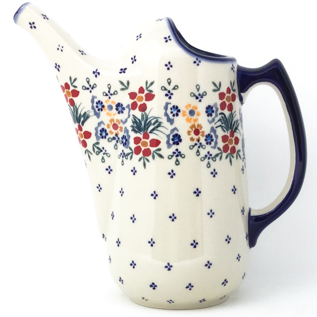 Watering Pitcher 2 qt in Delicate Flowers