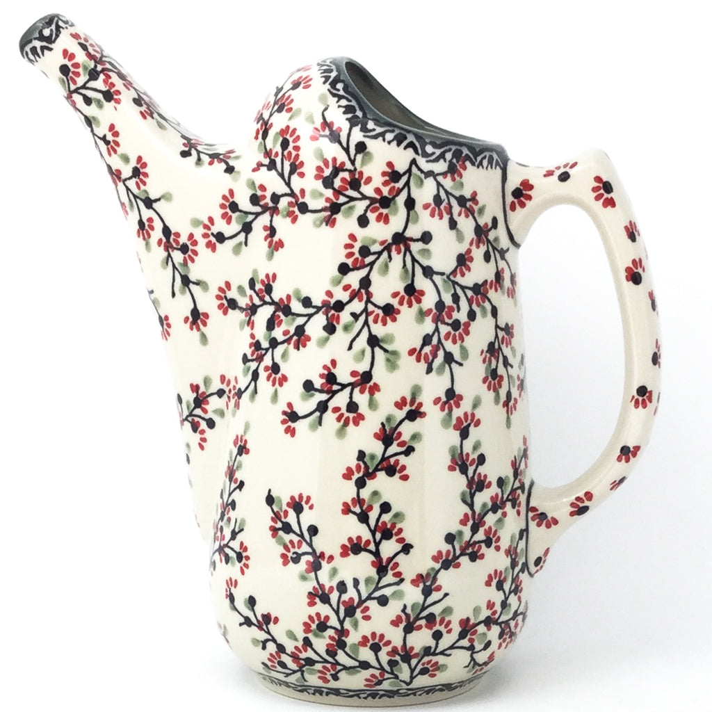 Watering Pitcher 2 qt in Japanese Cherry