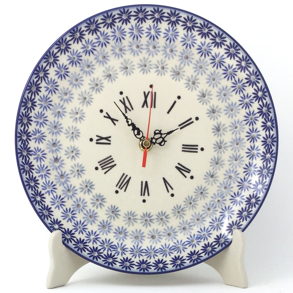Plate Wall Clock in All Stars