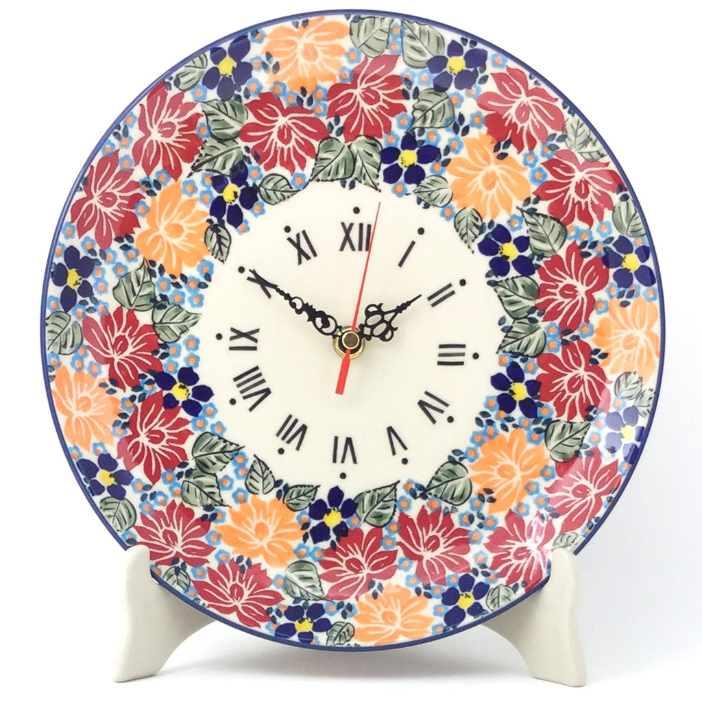 Plate Wall Clock in Just Glorious
