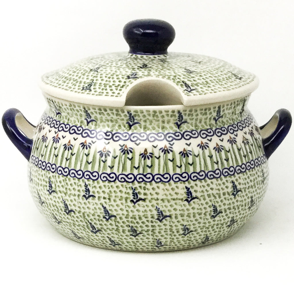Covered Tureen 4 qt in Blue Iris