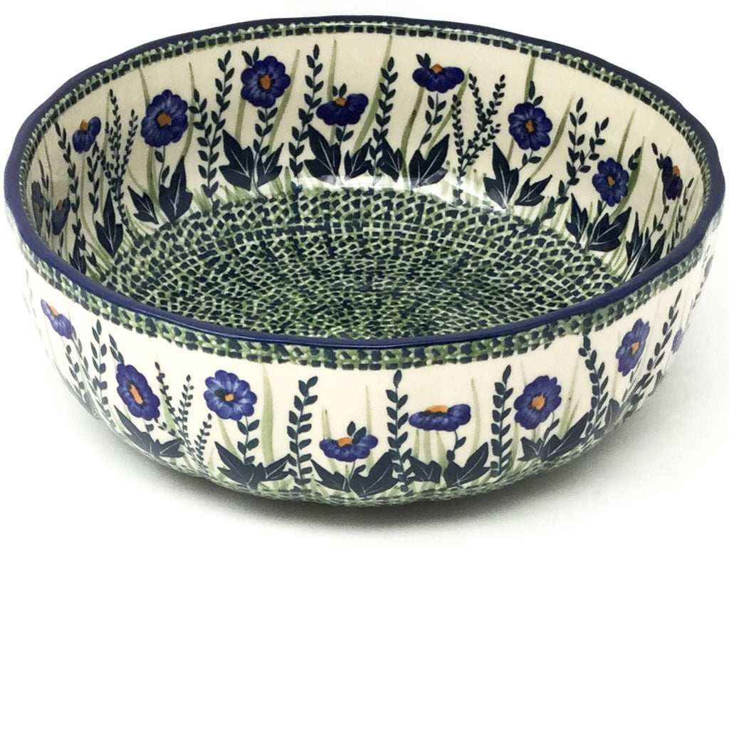 Family Shallow Bowl in Wild Blue