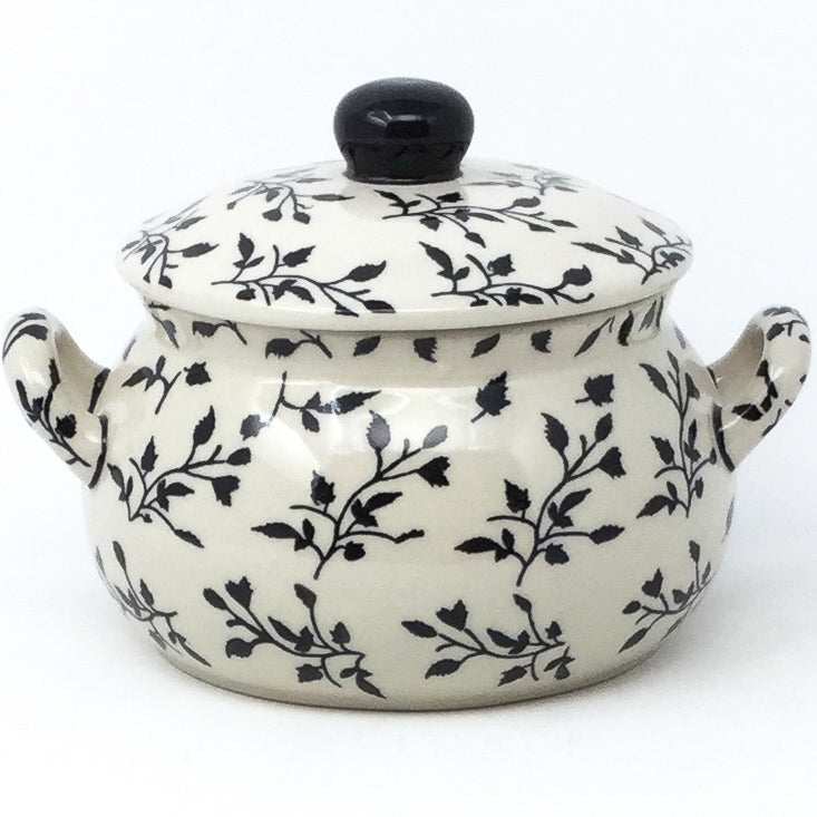 Covered Tureen 1 qt in Simply Black