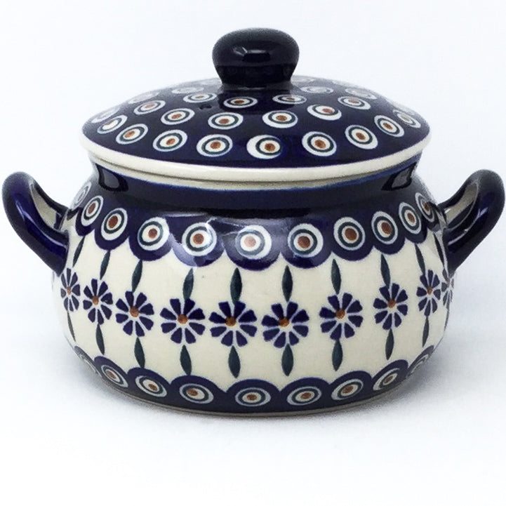 Covered Tureen 1 qt in Peacock