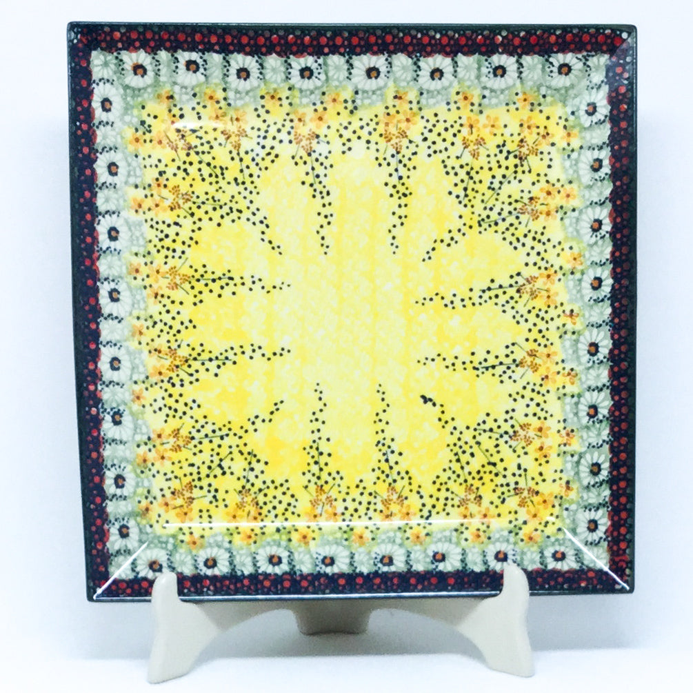 Square Platter in Cottage Decor