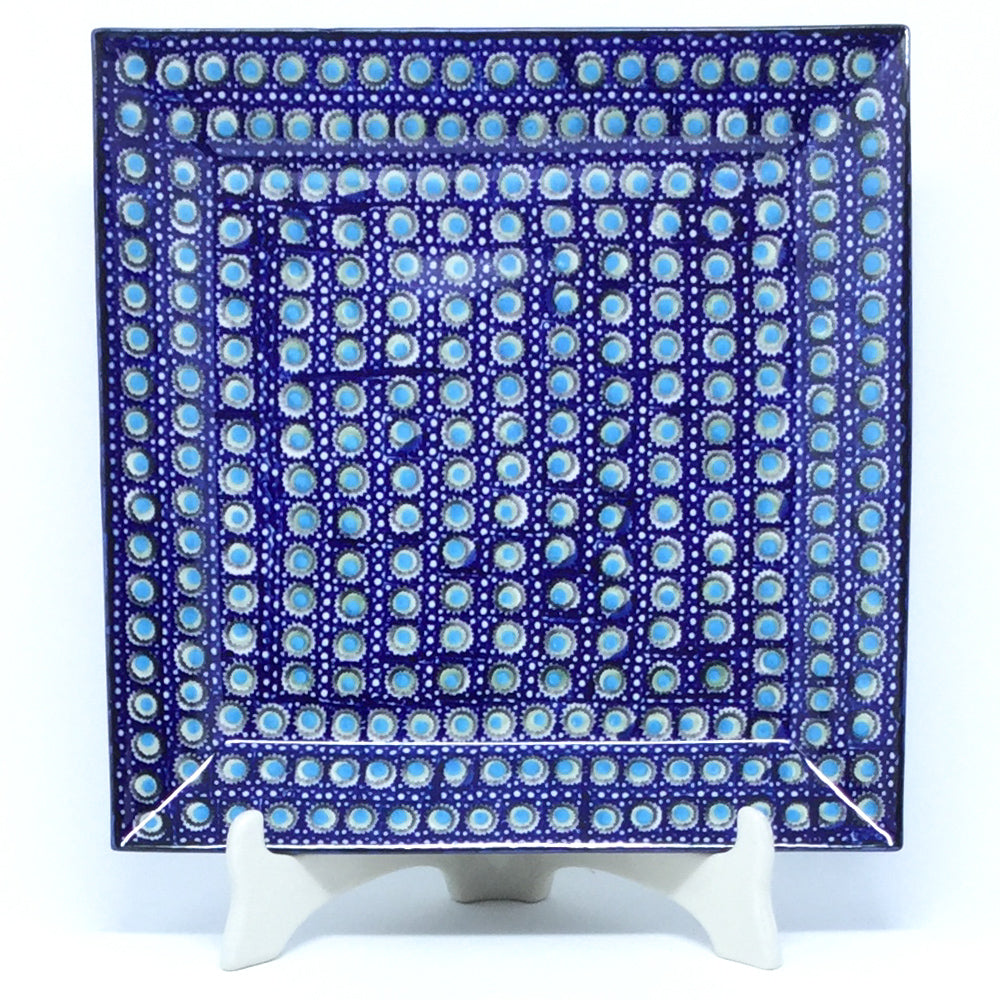 Square Platter in Blue Moon