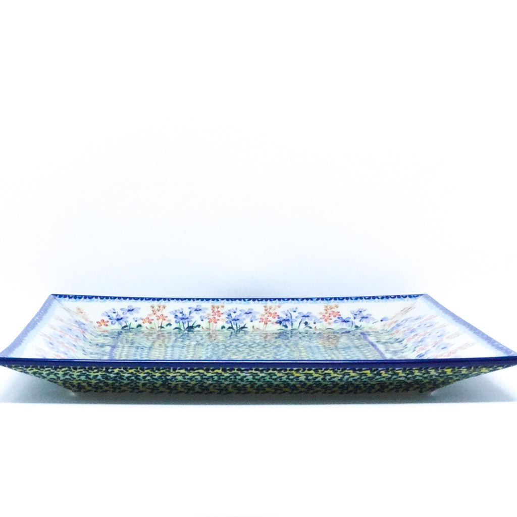 Square Platter in Country Spring