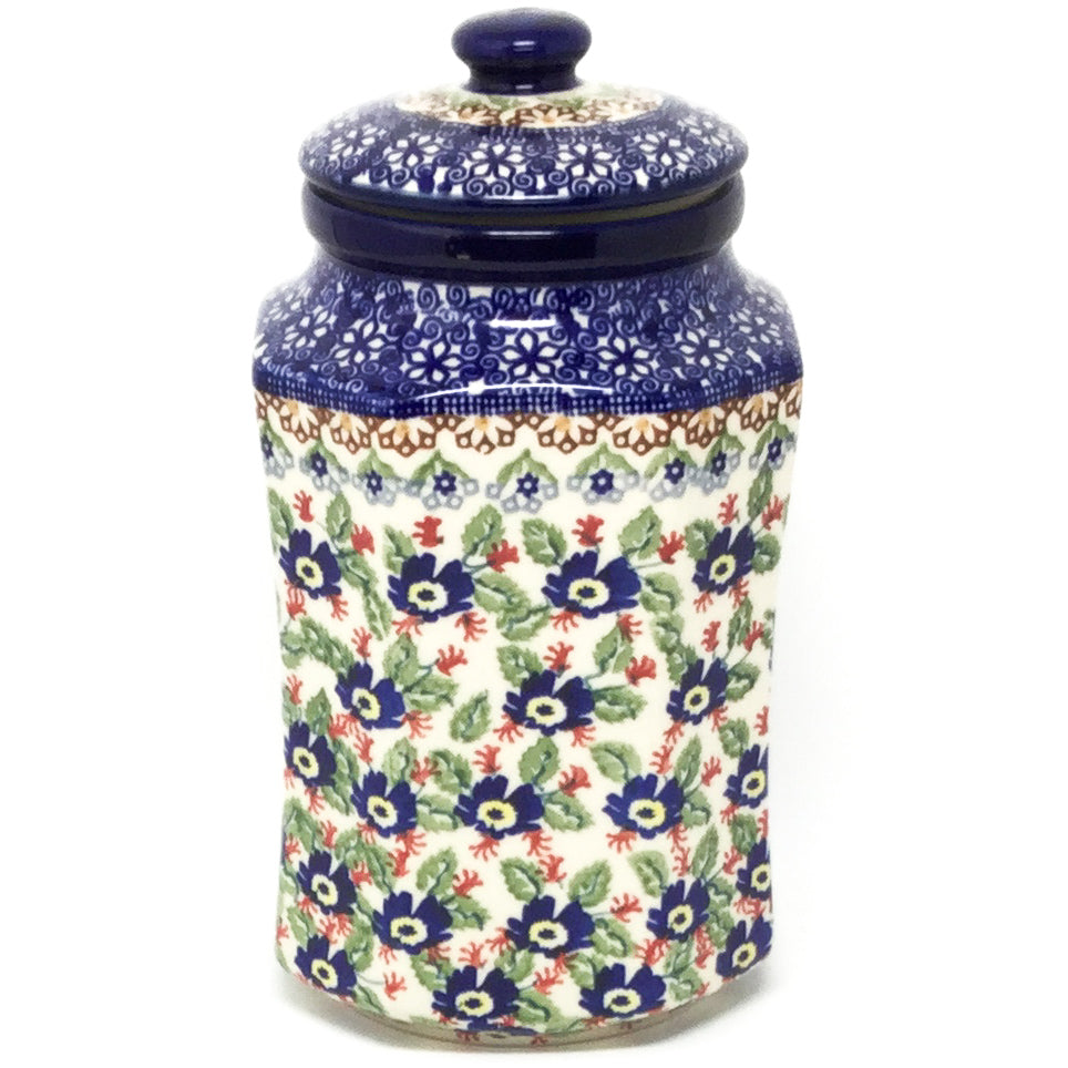 Md Airtight Canister in Forget-Me-Not