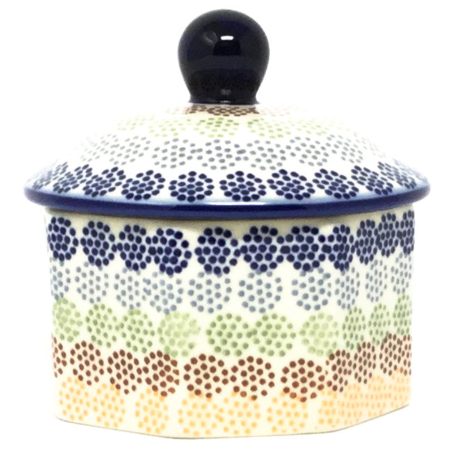 Keep Sake Box 8 oz in Modern Dots