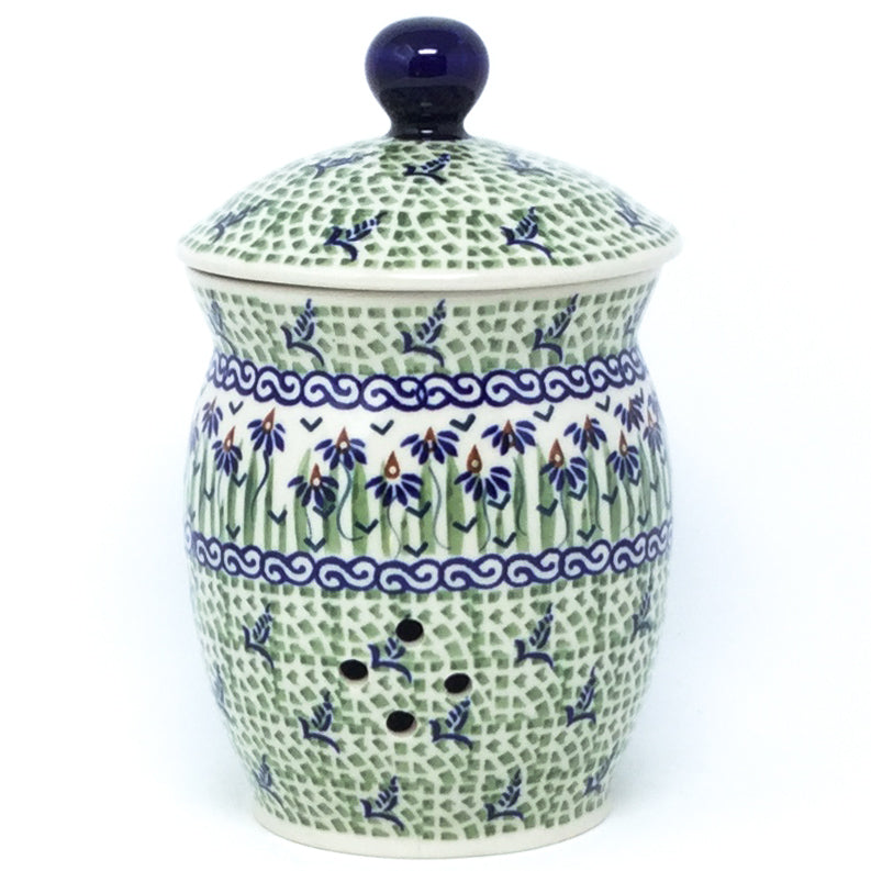 Garlic Keeper 1 qt in Blue Iris