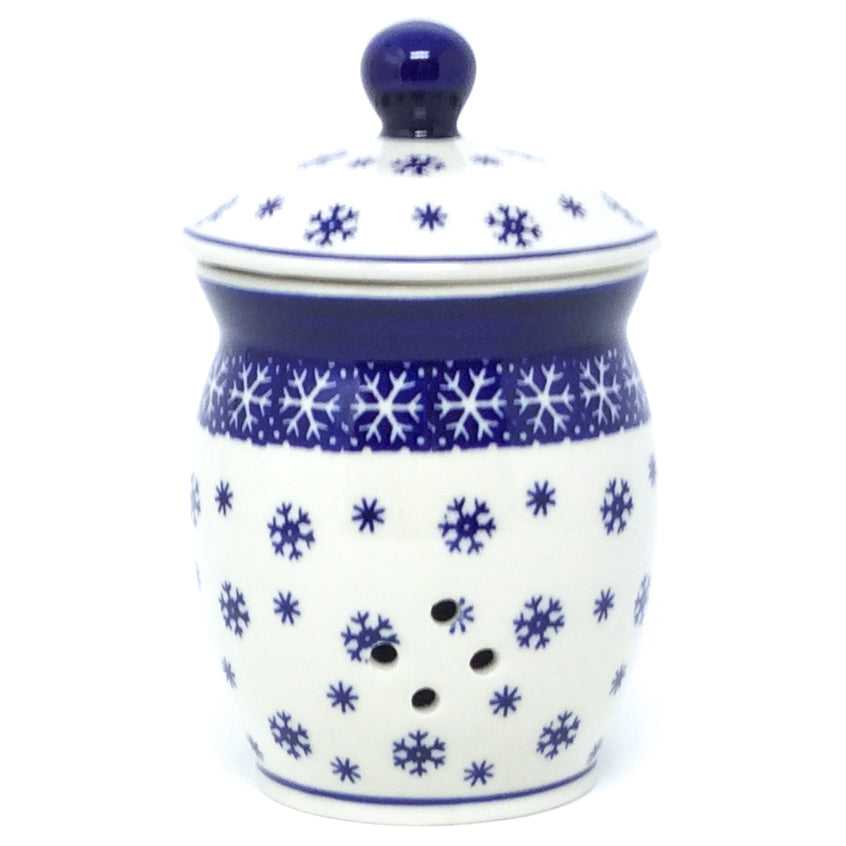 Garlic Keeper 1 qt in Snowflake