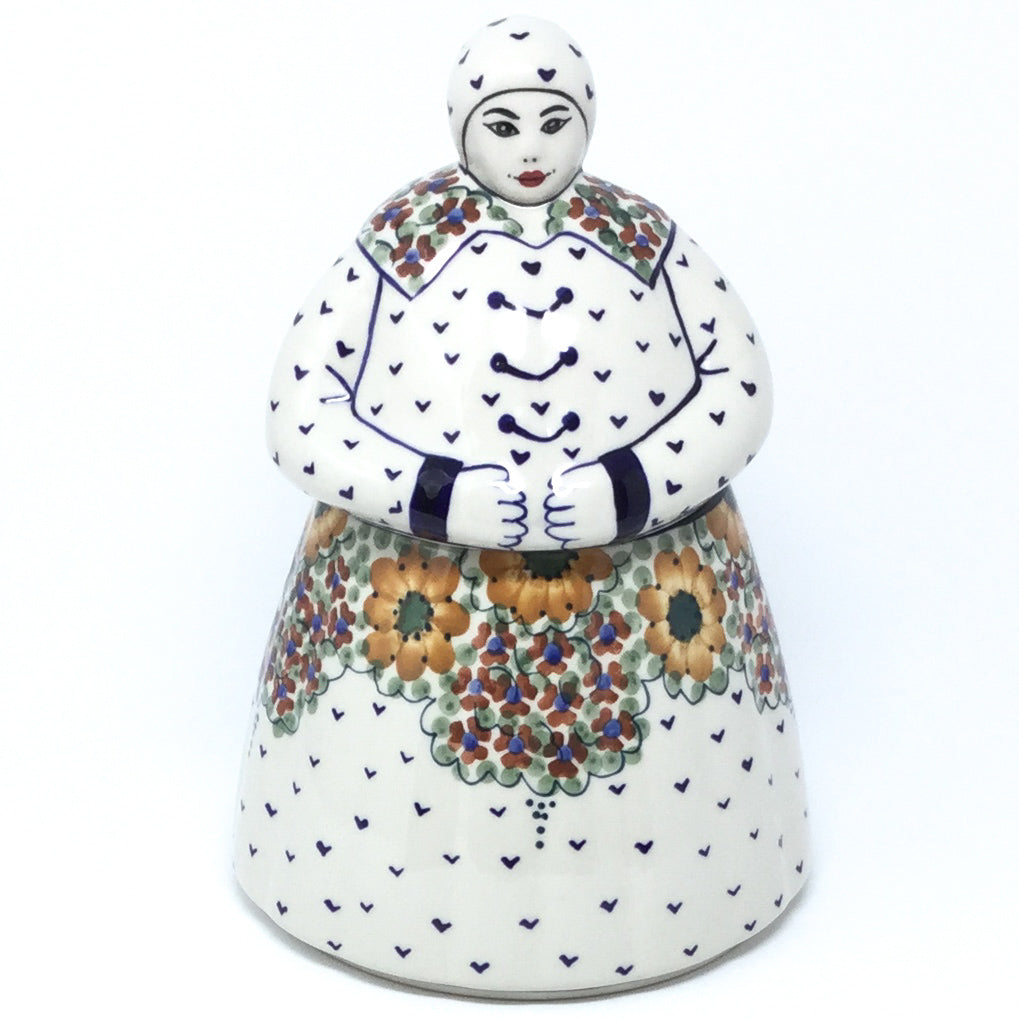 Babcia Cookie Jar in Fall