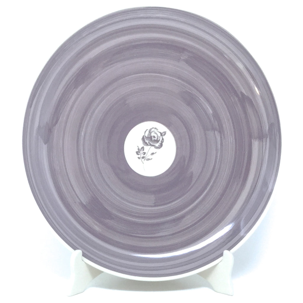 "Round Platter 12.5"" in Gray Rose"