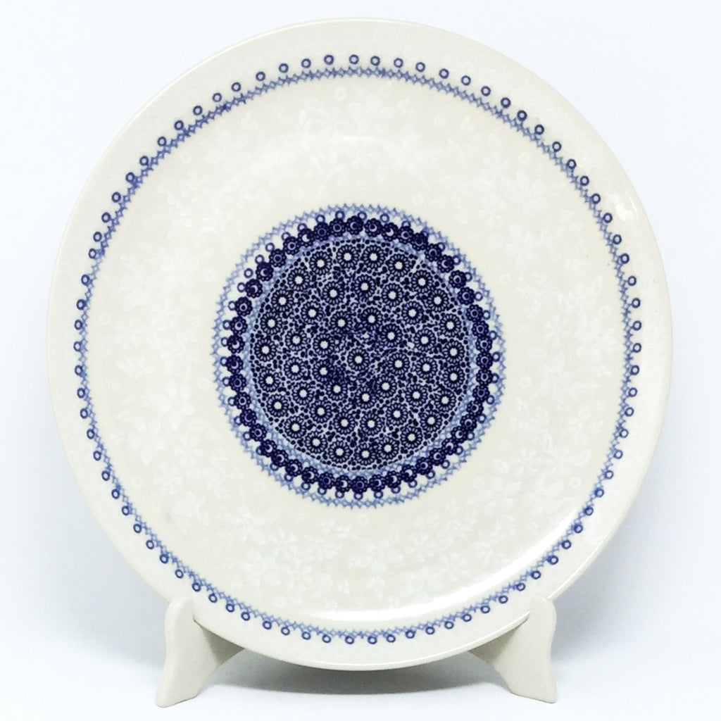 "Round Platter 12.5"" in Delicate Blue"