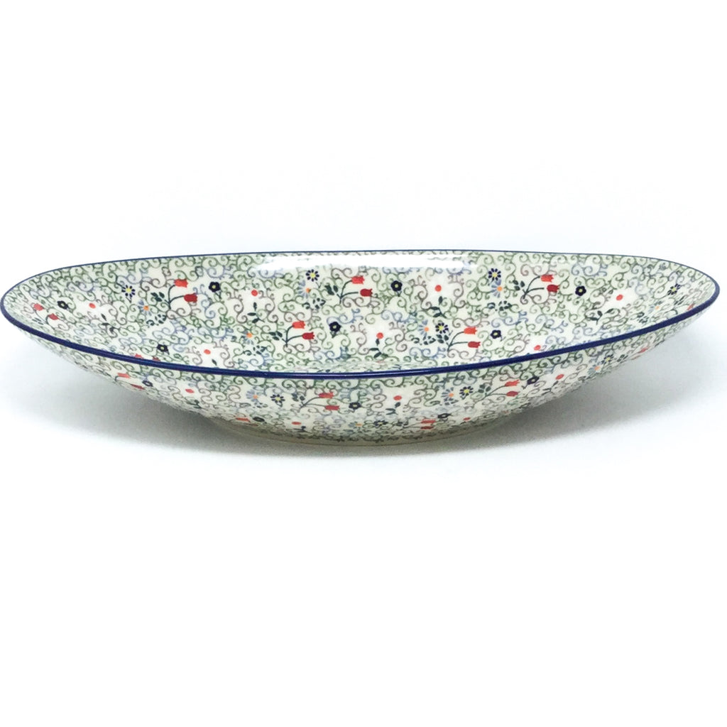 Lg Modern Oval Server in Early Spring