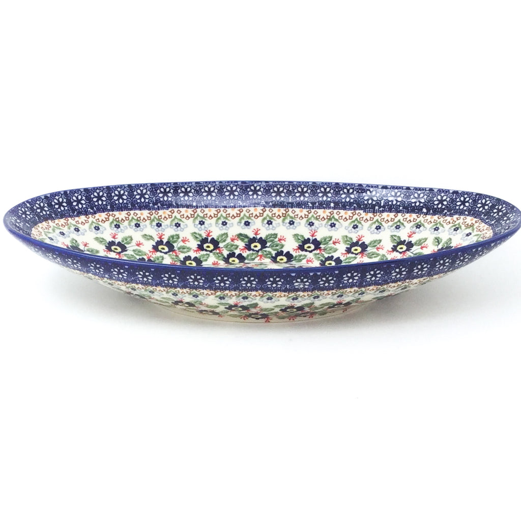 Lg Modern Oval Server in Forget-Me-Not