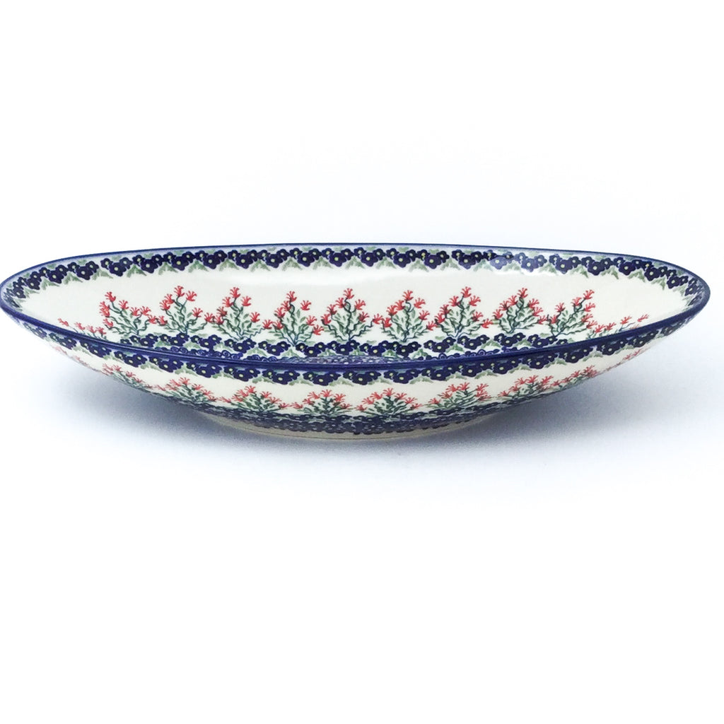 Lg Modern Oval Server in Field of Flowers