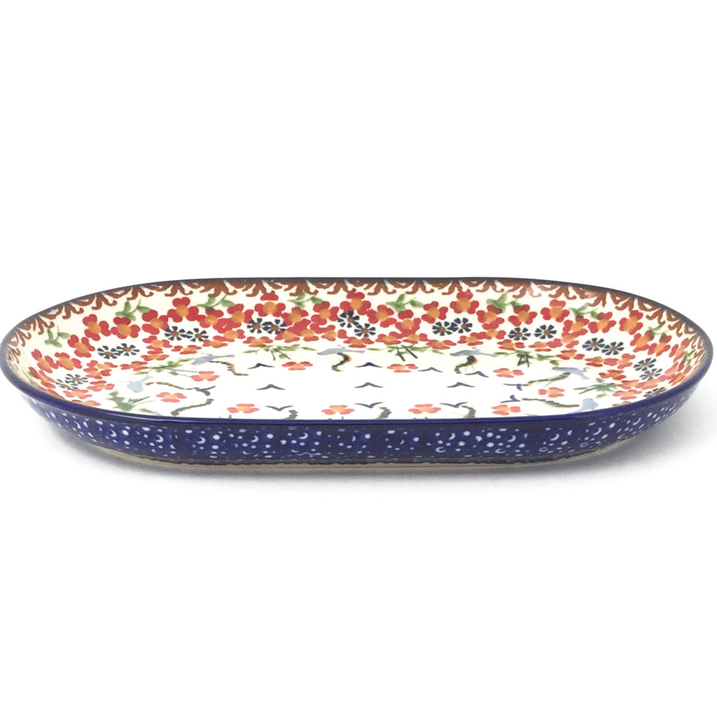 Tiny Oval Platter in Simply Beautiful