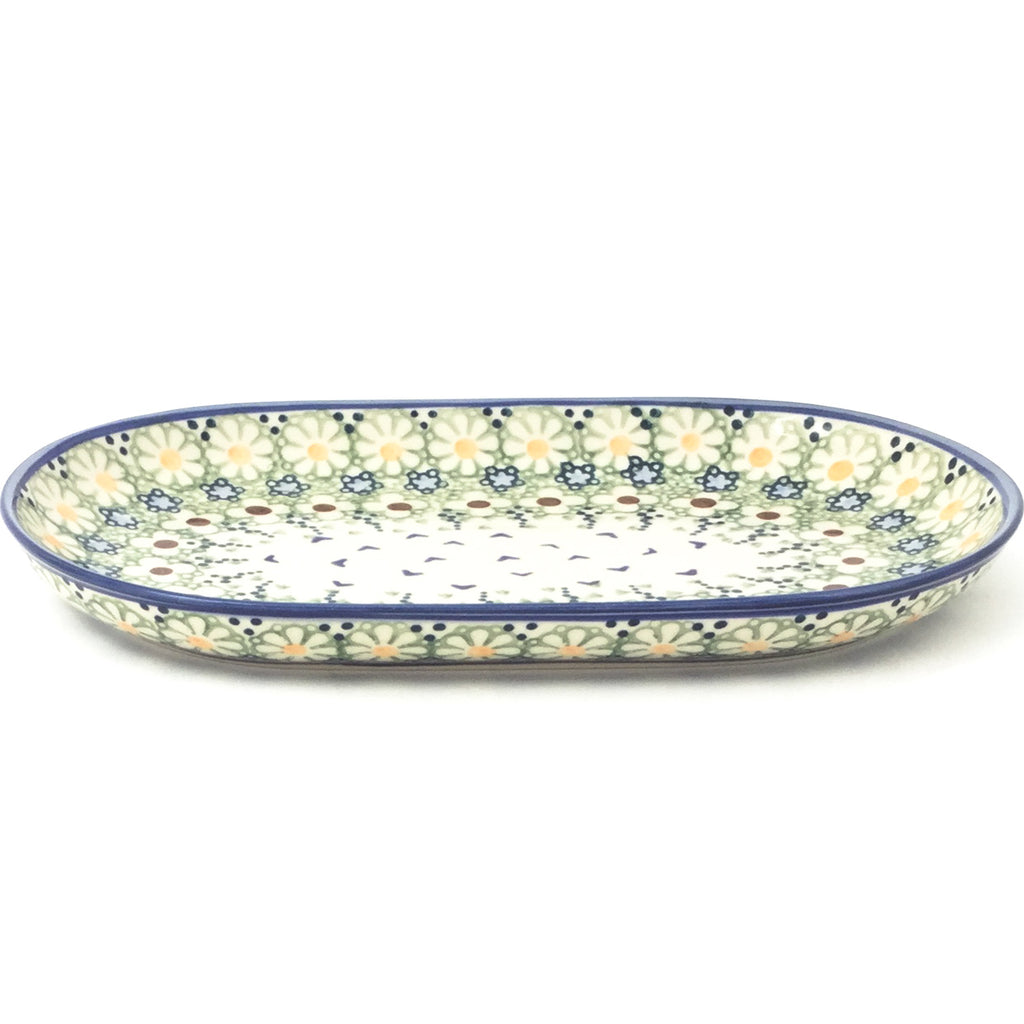 Tiny Oval Platter in Spring
