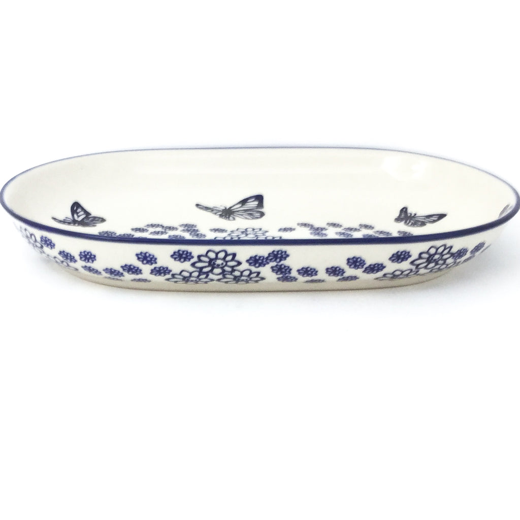Sm Oval Platter in Butterfly