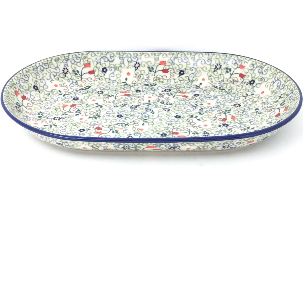 Md Oval Platter in Early Spring