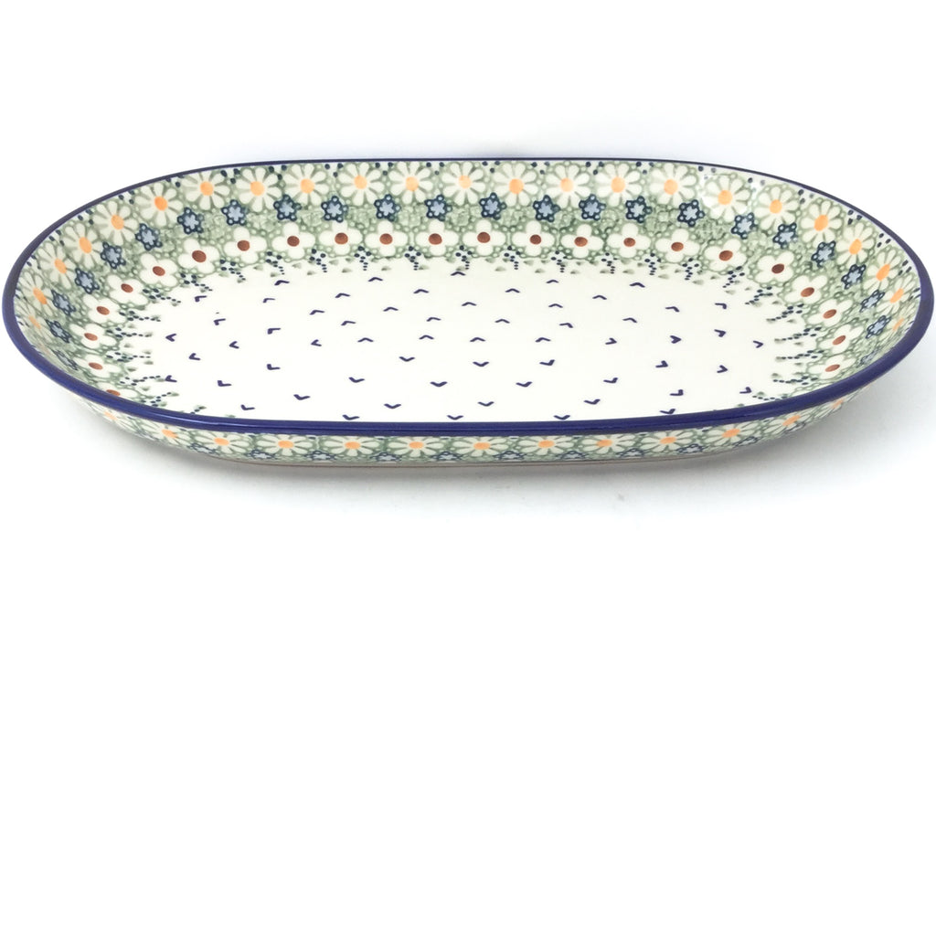 Md Oval Platter in Spring