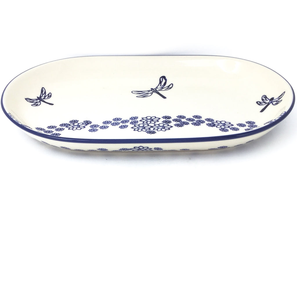 Md Oval Platter in Dragonfly