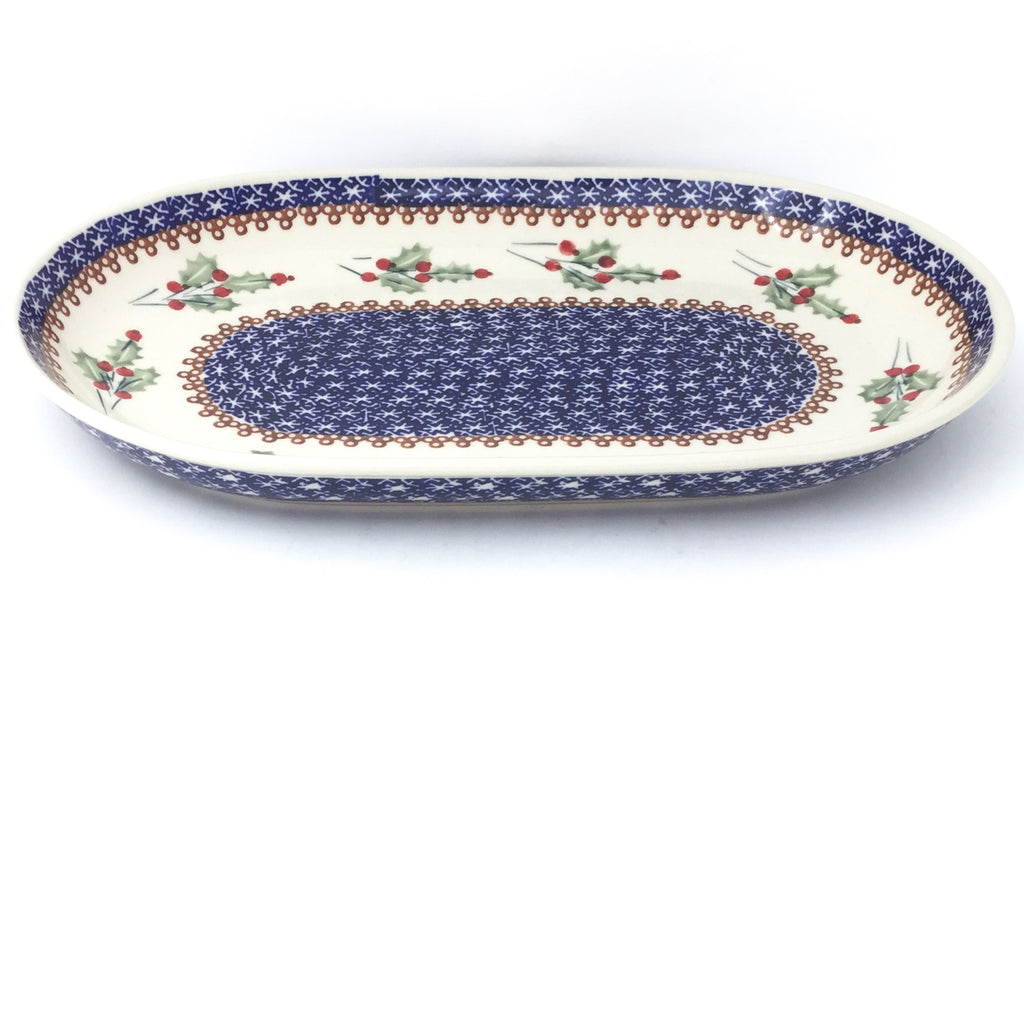 Md Oval Platter in Holly