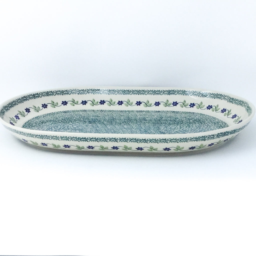 Lg Oval Platter in Spring Valley