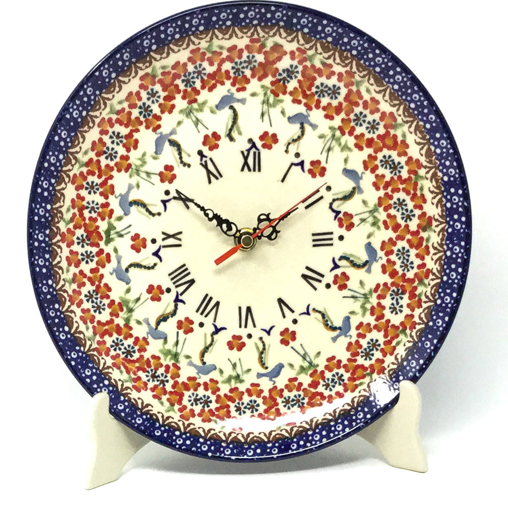 Plate Wall Clock in Simply Beautiful