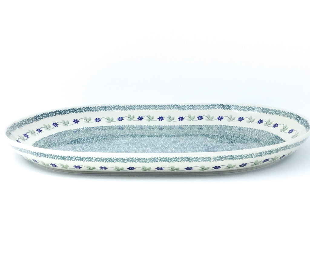 Ex Lg Oval Platter in Spring Valley