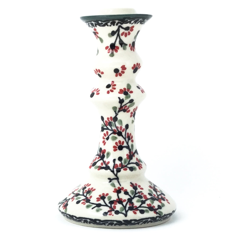Tall Candle Holder in Japanese Cherry