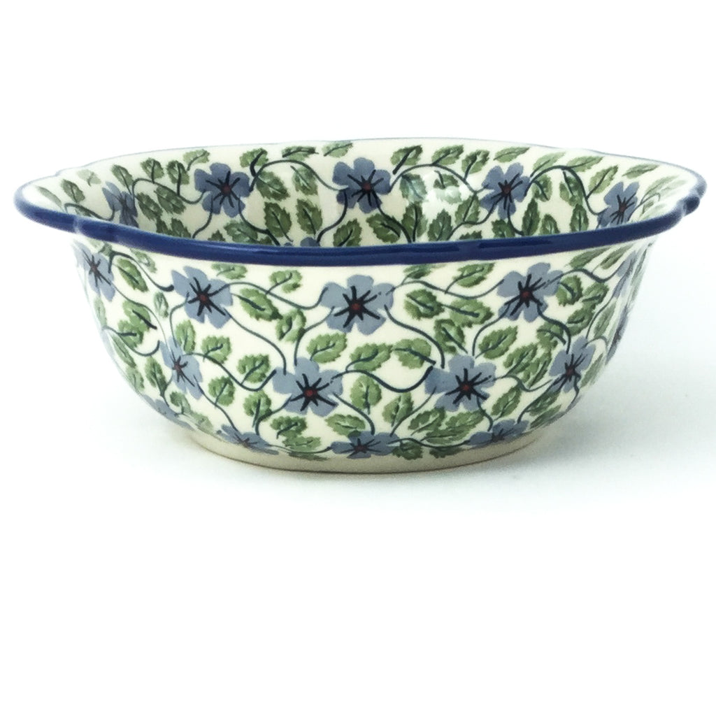 Sm Retro Bowl in Blue Clematis