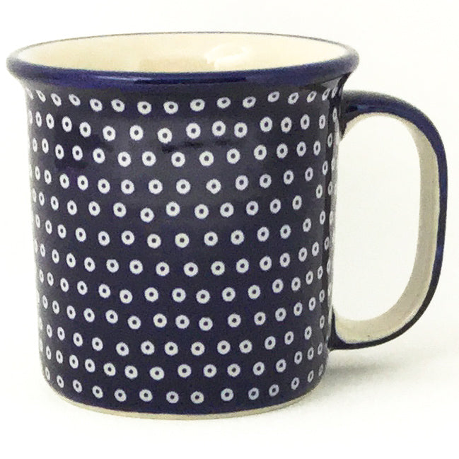 Straight Cup 12 oz in Blue Elegance