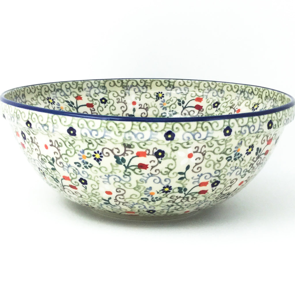 Round Bowl 64 oz in Early Spring