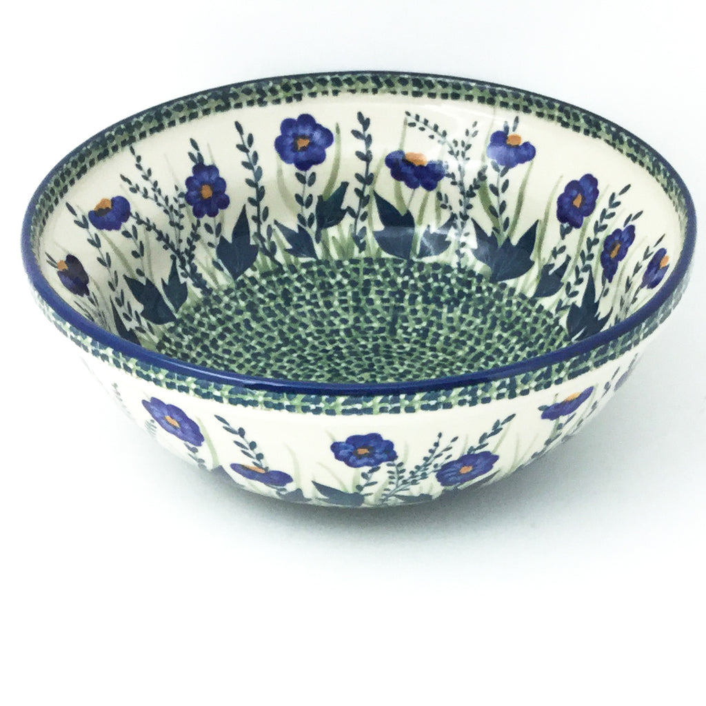 Round Bowl 64 oz in Wild Blue