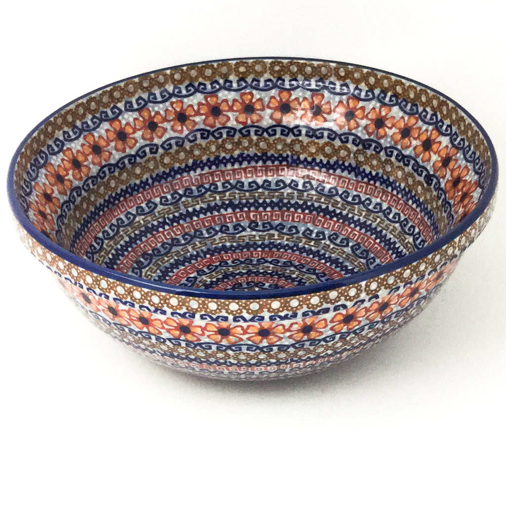 Round Bowl 64 oz in Earth Tones