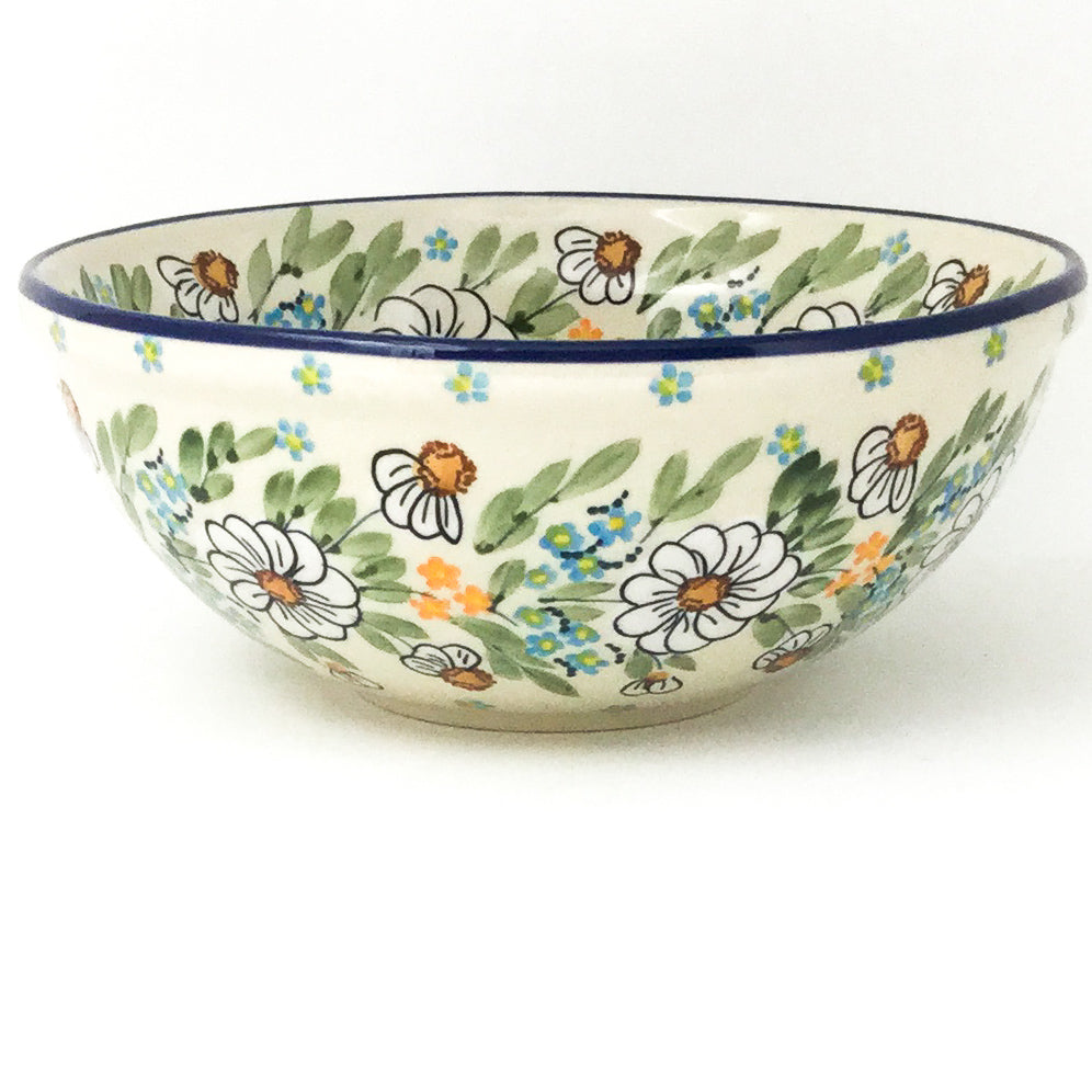 Round Bowl 32 oz in Spectacular Daisy