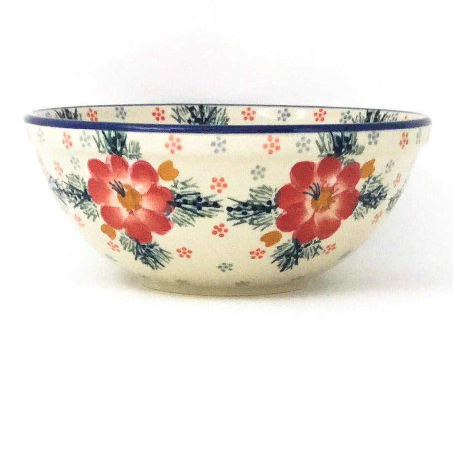 New Soup Bowl 20 oz in Floral Cluster