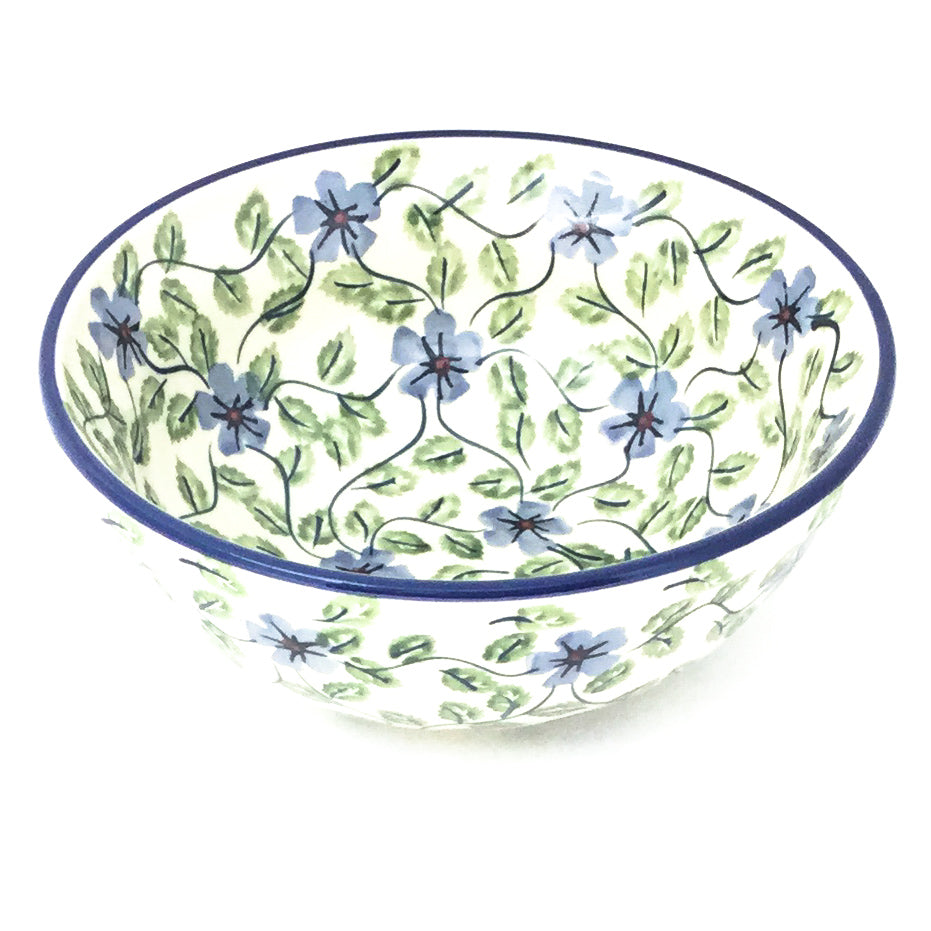 New Soup Bowl 20 oz in Blue Clematis