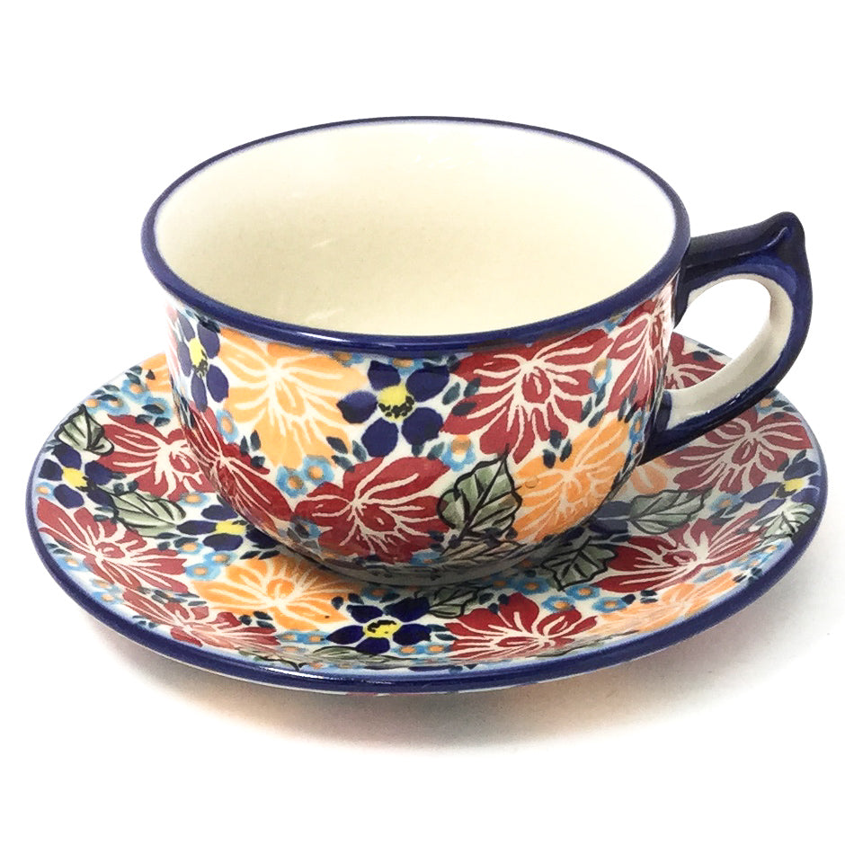 Tea Cup w/Saucer 8 oz in Just Glorious