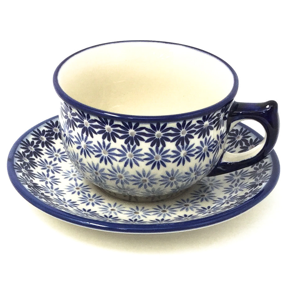 Tea Cup w/Saucer 8 oz in All Stars