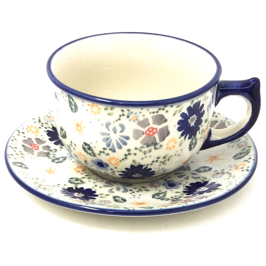 Tea Cup w/Saucer 8 oz in Morning Breeze