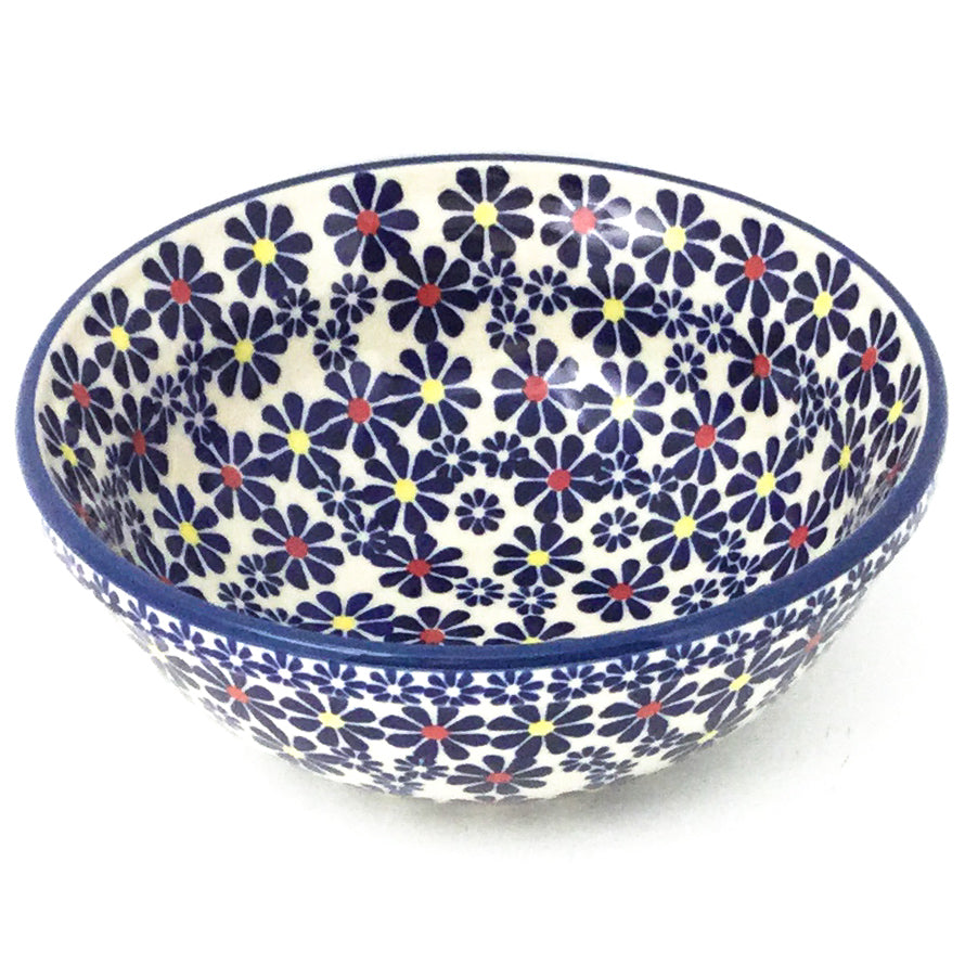New Soup Bowl 20 oz in Flowers on White