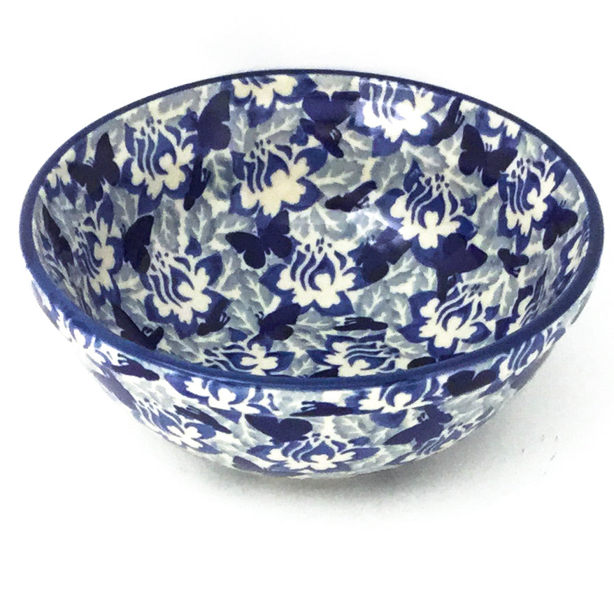 New Soup Bowl 24 oz in Blue Butterfly