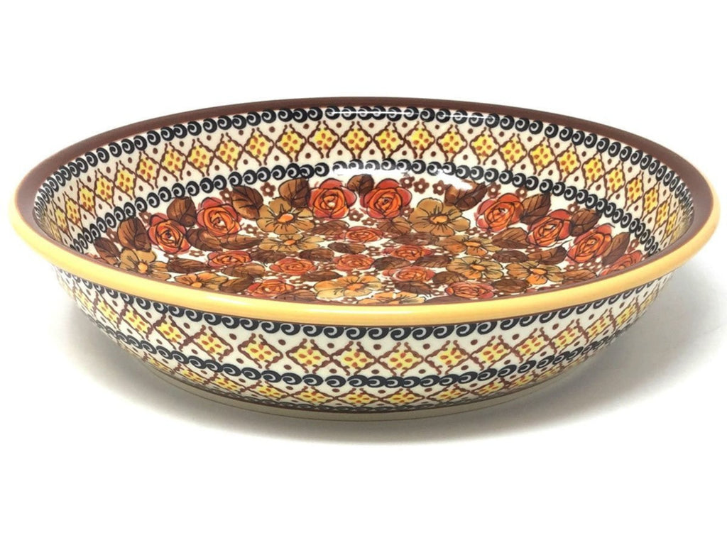 Polish Pottery Family Style Pasta Bowl ART152
