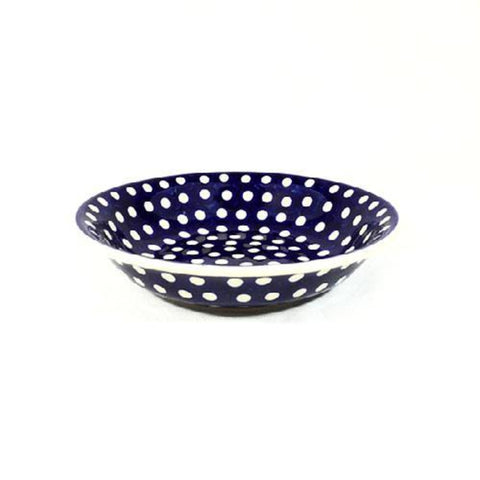 Polish Pottery Pasta Bowl 9""